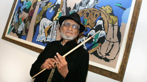 Topic: Oops That controversial Picasso of Indian Subcontinent Died..