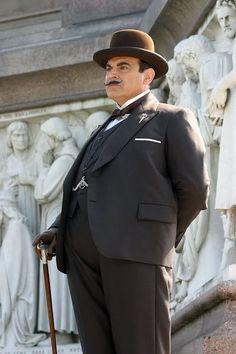 Hercule Poirot David Suchet - makes the my book character alive ...