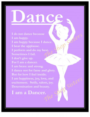 Dance Quotes For Inspiration Inspirational ballerina dancer