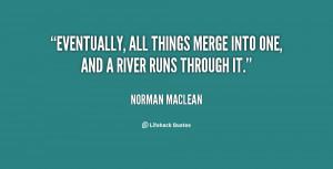 River Runs through It Quotes