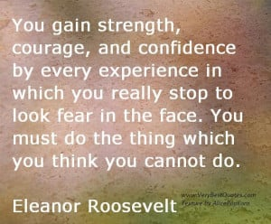 you gain strenght quotes