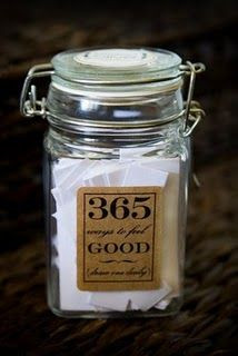 Good Jars--filled with 365 good thoughts, quotes, for each day ...