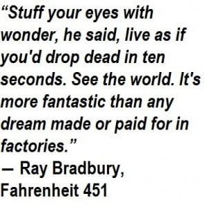 Ray Bradbury Fahrenheit 451 Quotes
