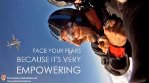 Skydiving Lesson #3: Face your fears and take those risks because it ...