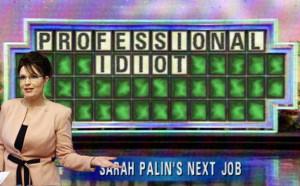 Sarah Palin - Wheel Of Fortune