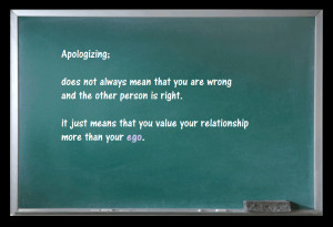Quote That - Apologizing