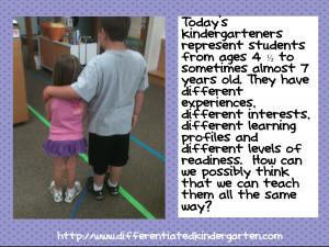 all kindergarteners do not