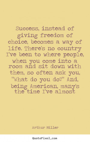 Country Quotes About Life Success quotes - success