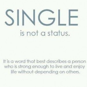 Don't let your self-worth be determined by your relationship status