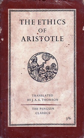 """Start by marking """"The Ethics of Aristotle"""" as Want to Read:"""