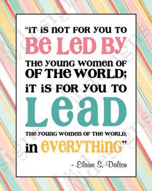 LDS Young Women -