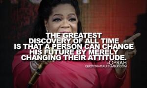Oprah winfrey, quotes, sayings, change, future