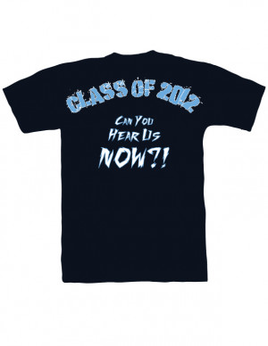 Sophomore 2012 Class Tee Back by ROCSoundMan