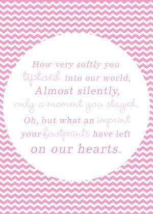 You are here: Home › Quotes › Miscarriage/Stillborn/Infant/Child ...