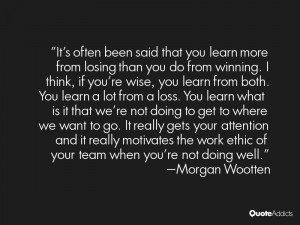 Morgan Wootten Quotes