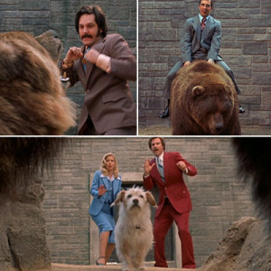 see the best of anchorman films anchorman bear pit scene best of ...