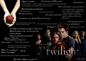 Twilight Quotes Wallpaper by Eriichan