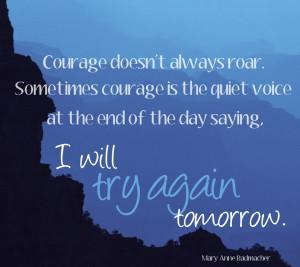 always roar…
