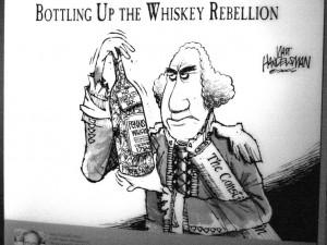 Whiskey Rebellion of 1794.Cartoons Step, Modern Day Politics, Whiskey ...