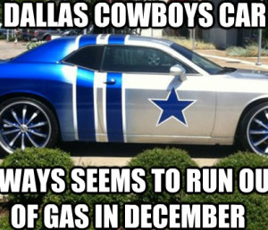 Every December it Happens to the Cowboys Meme
