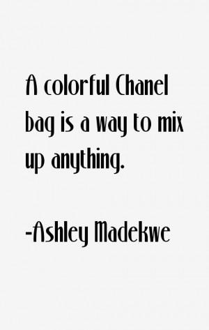 Ashley Madekwe Quotes & Sayings