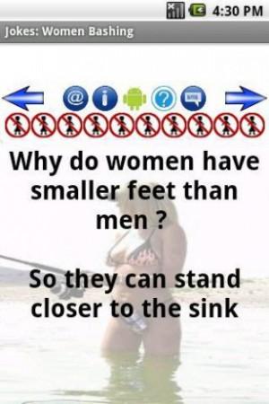Description for Women Bashing Jokes
