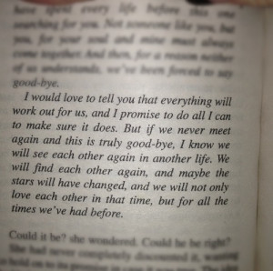 we will find each other again..