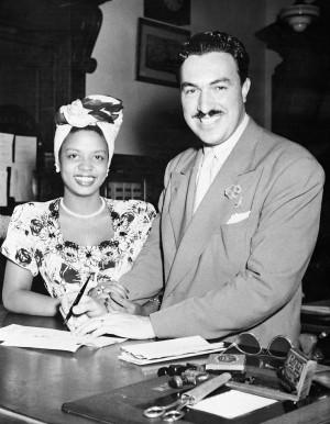 Hazel Scott & Adam Clayton PowellAmerican History, Clayton Powell ...