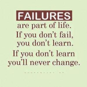 failures picture quote