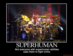 Neil Peart - Because he has always been more than a drummer