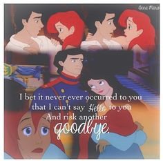 the little mermaid and i almost do by taylor swift