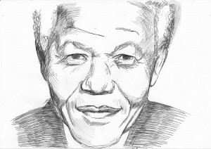 Paul Emsley Nelson Mandela...