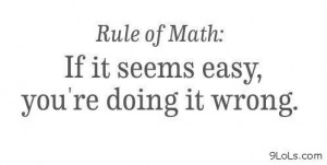 Rule of math - Funny Pictures, Funny Quotes, Funny Videos - 9LoLs.com ...