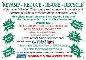 revamp - reduce - reuse - recycle