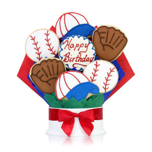 Home > Happy Birthday Baseball Cookie Bouquet