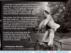 Christopher Hitchens motivational inspirational love life quotes ...