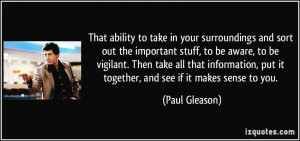 More Paul Gleason Quotes