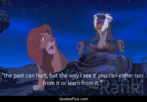 Learn from the past… – The Lion King