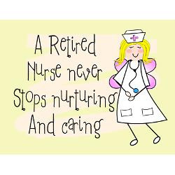 retired nurse greeting card jpg height 250 amp width 250 amp ...