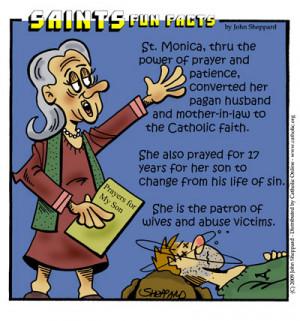 Saints Fun Facts for St. Monica