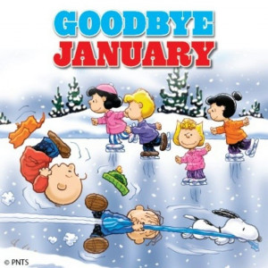 ... snoopy peanuts february february quotes hello february goodbye january