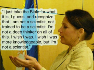 Knowledge only belongs to scientists, understand?