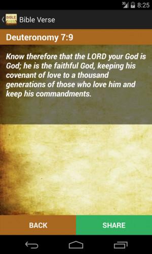 Daily Bible Verses Screenshot