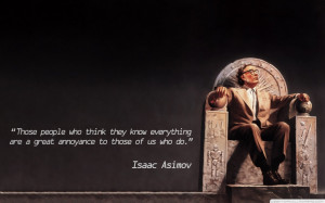 Text Quotes Of Isaac Asimov Science Fiction Artwork 1280×800 ...