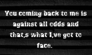 Phil Collins - Against All Odds - song lyrics, song quotes, songs ...