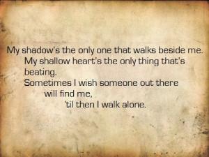 Green Day Boulevard Of Broken Dreams Quotes