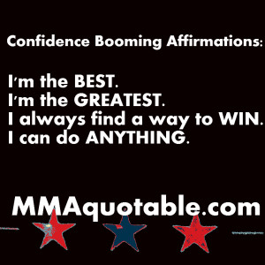 Confidence Building Affirmations / Mantras
