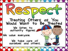 Education Posters and Writing Prompts for the following words: Respect ...