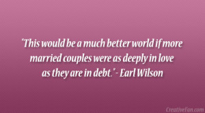 Earl Wilson Quote