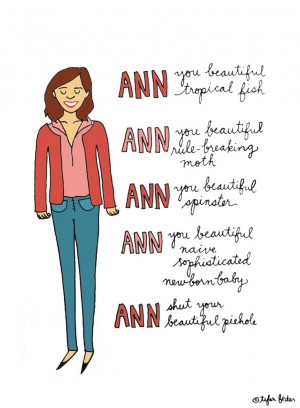 Ann, you beautiful tropical fish.